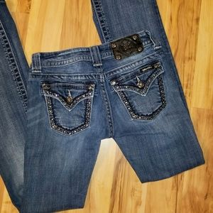 Miss Me size 25 bootcut jeans